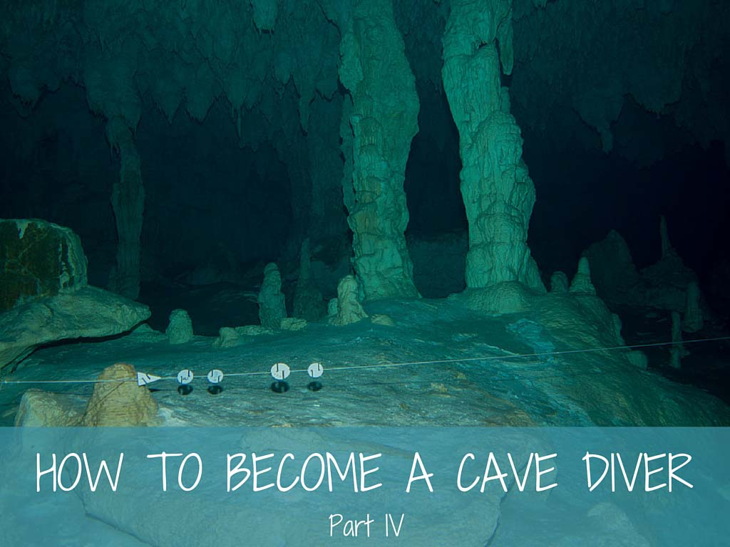 how to become a cave diver