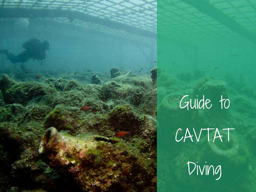 guide to cavtat diving