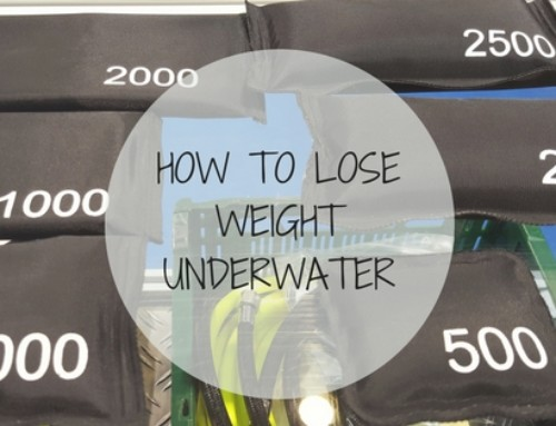 How to Lose Weight Underwater
