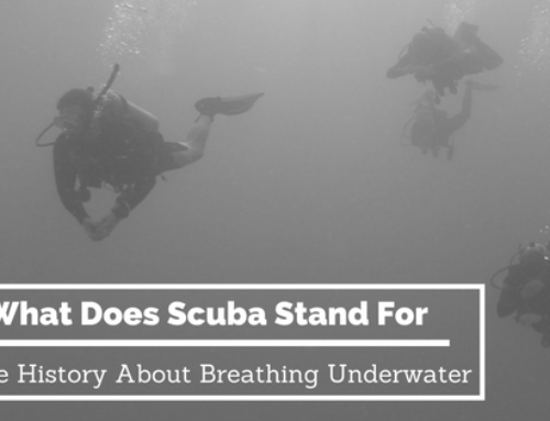 What does SCUBA stand for? Some History about Breathing Underwater