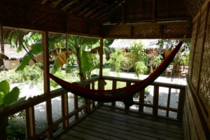 Hammock at Homestay