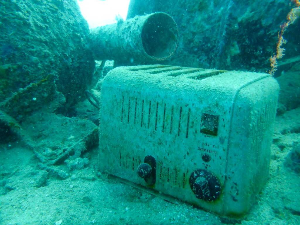 Artificial Coral Reef - Debris
