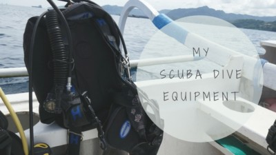 My scuba dive equipment