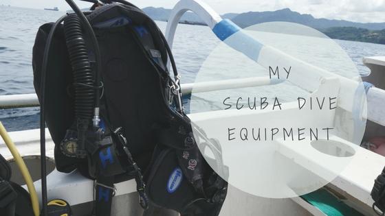 My scuba dive equipment