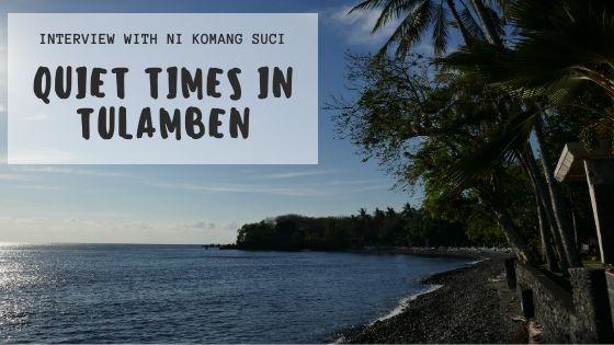 quiet times in tulamben